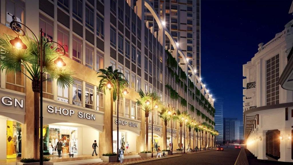 Shophouse Diamond Riverside có thiết kế sang trọng và thông minh
