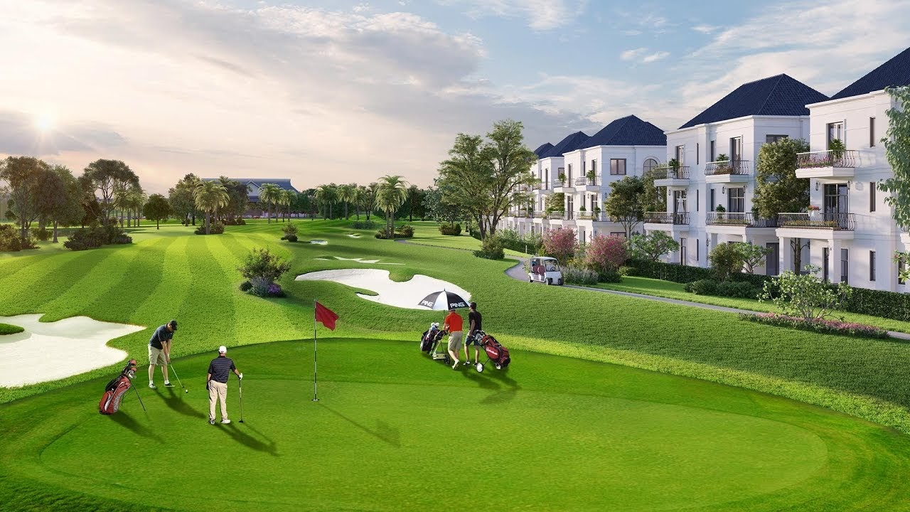Sân Golf được thiết kế bởi chuyên gia đình đám trên thế giới