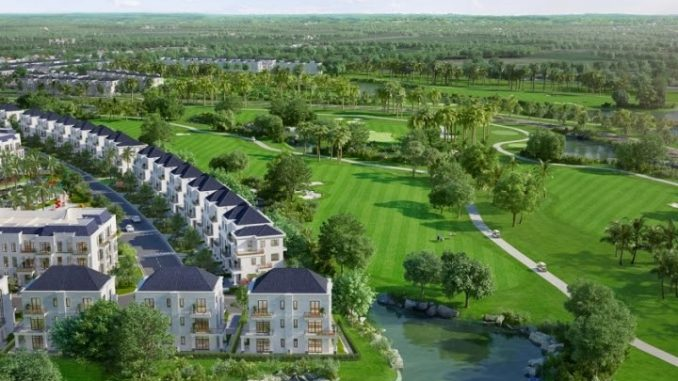 Toàn cảnh dự án West Lakes Golf & Villa tại Long An