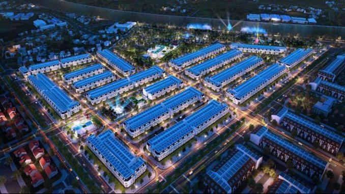 Khu dân cư trung tâm hành chính Tân An hiện đại