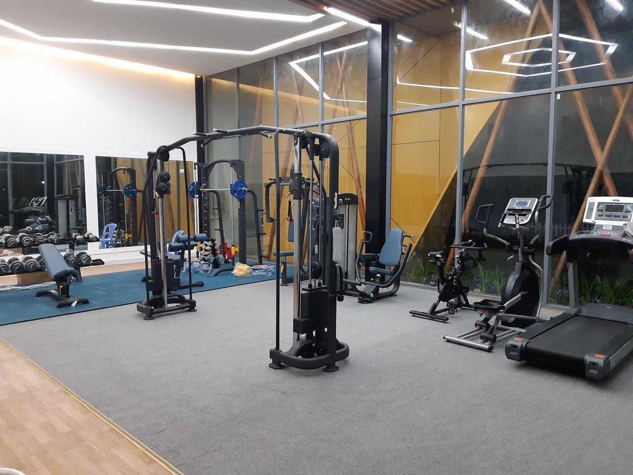 Phòng tập Gym ngay trong khu đô thị Bella Villa