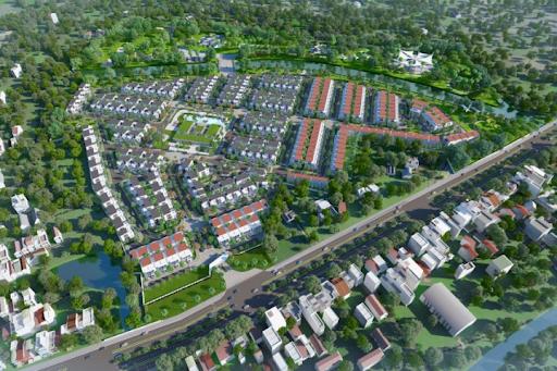 Toàn cảnh dự án khu đô thị Bella Villa