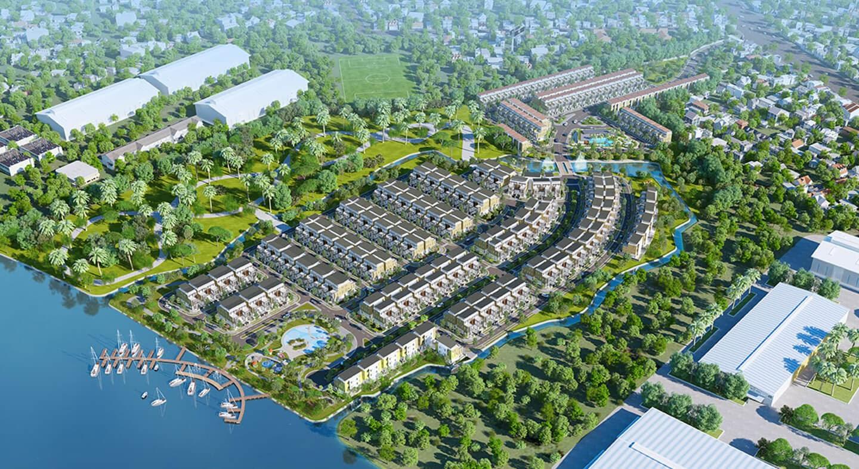 Dự án Trần Anh Riverside Bến Lức - Long An