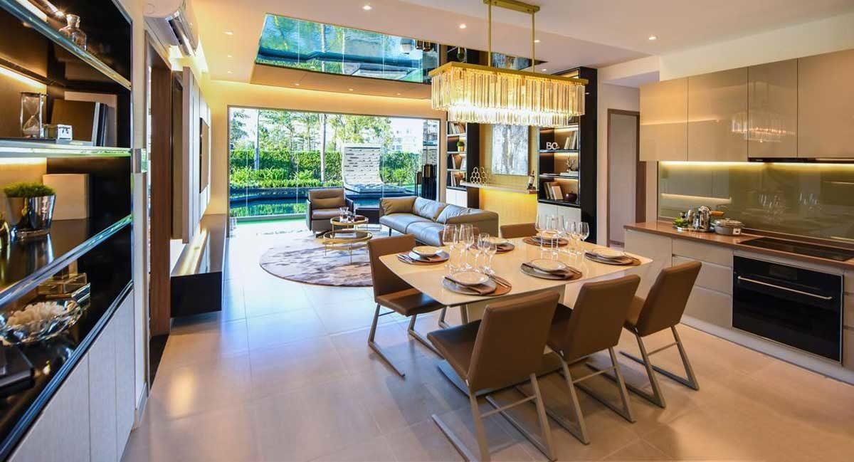 Thiết kế căn hộ sang trọng hiện đại