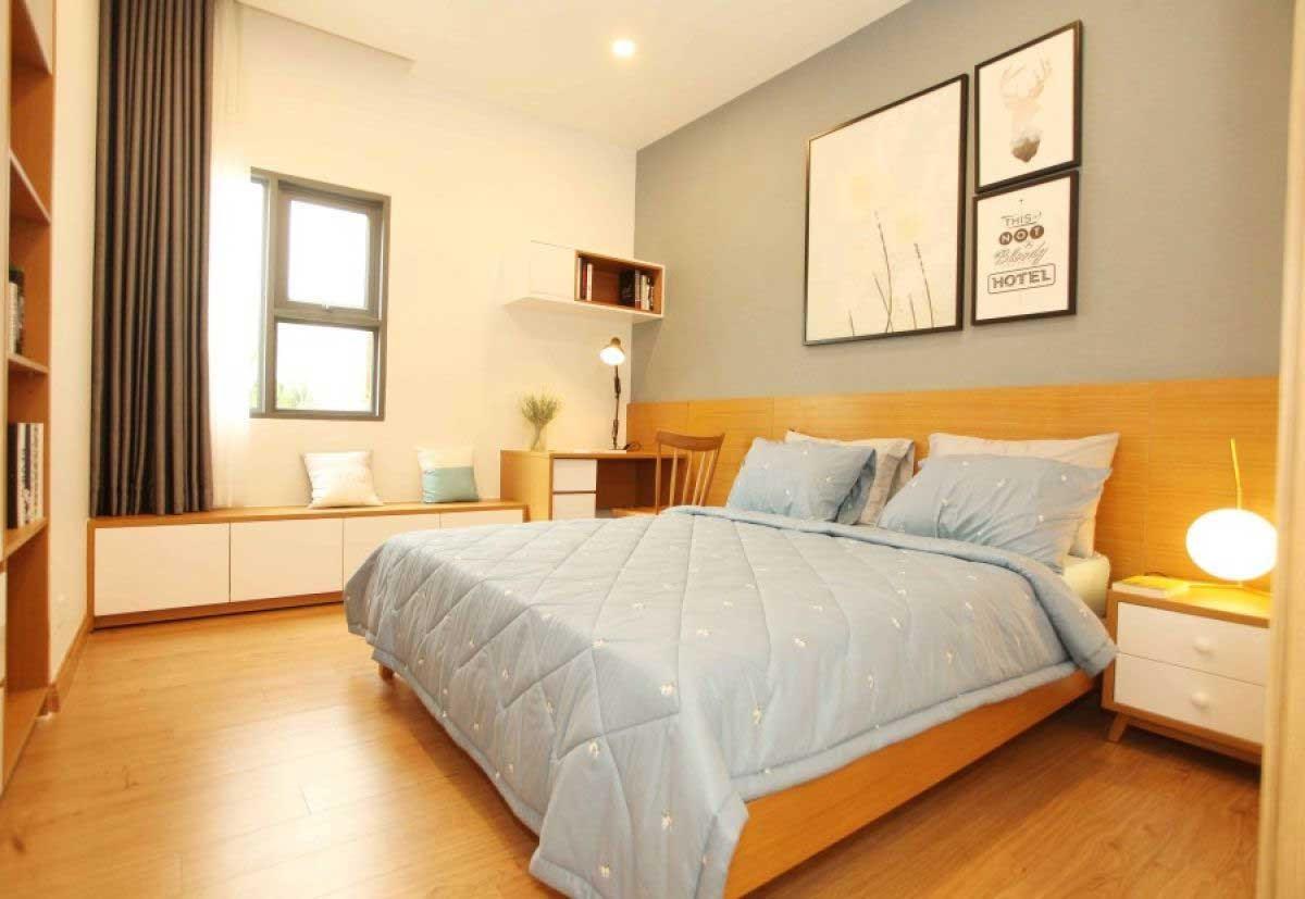 Phòng ngủ tinh tế, nhẹ nhàng