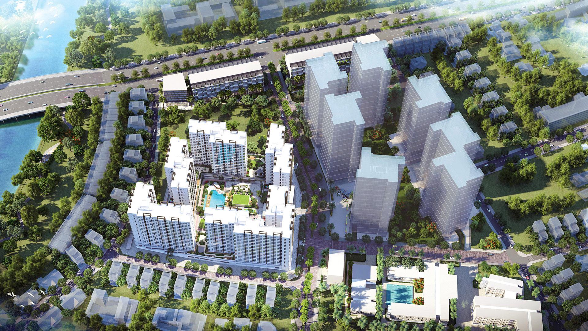 phoi canh City Gate 6